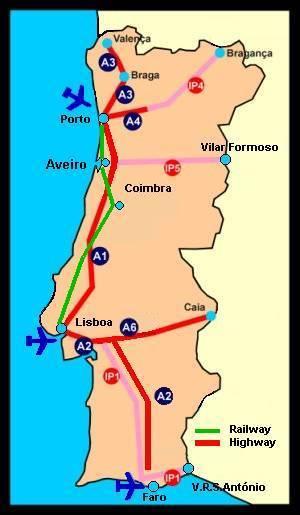 Mapa Do Centro De Aveiro